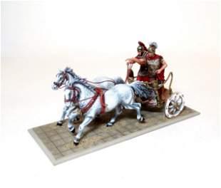 St. Petersburg Julius Caesar In Battle Chariot