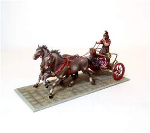 St. Petersburg Roman Officer in Chariot