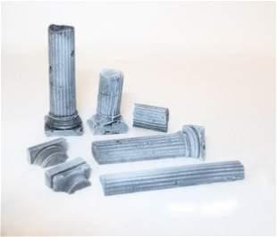 Ancient Roman Column Fragments
