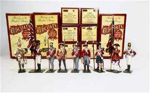 """Britains """"Redcoats"""" Selection"""