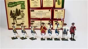 "Britains ""Redcoats & Bluecoats"" Selection"