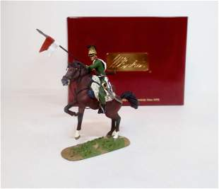 Britains #36053 French 4th Lancers Trooper