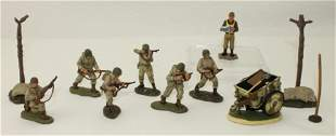 Britains Lot United States Infantry and Aviator
