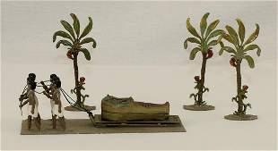 Potsdamer Zinnfiguren Egyptian Sarcophogus Duplex