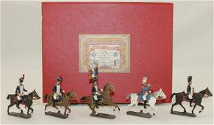 Mignot of France Set Imperial Guard Mounted