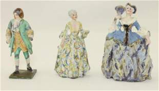 Historical Lot of French Court Personalities