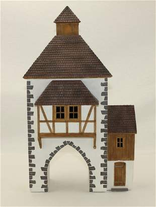 Frontline German Town Gate House