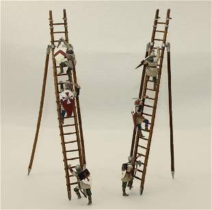 King & Country Lot Knights Scaling Siege Ladder
