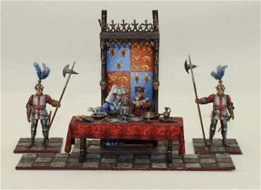 St Petersburg Great Hall Diorama King Henry V