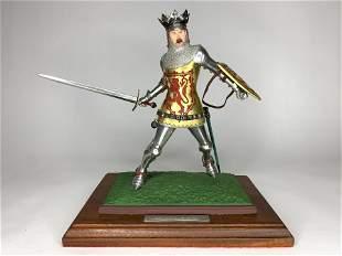 Rodden 9 1/2 Inch Robert II King of Scotland