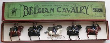 39 Britains Set 190 Belgian Cavalry