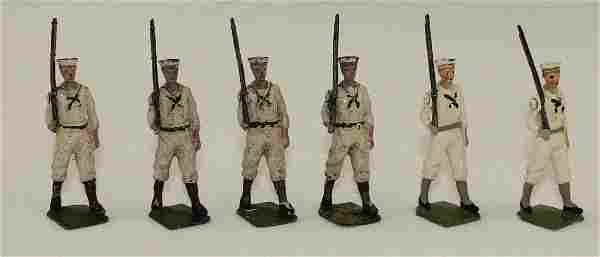 Britains Lot US Navy in White Jackets