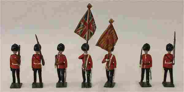 Britains Lot United States Infantry Marching