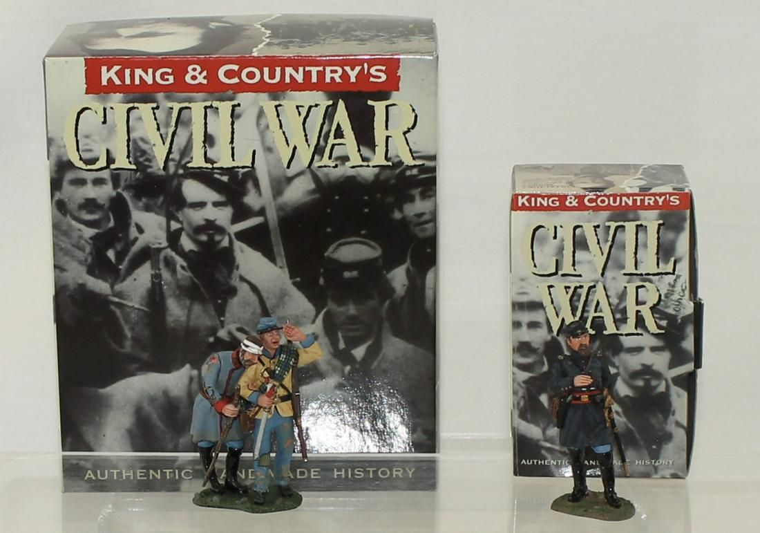 King & Country Lot ACW Confederate and Union