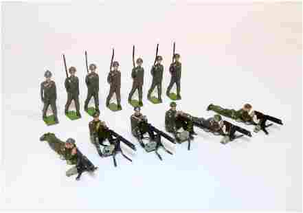Britains Allied Infantry Figures