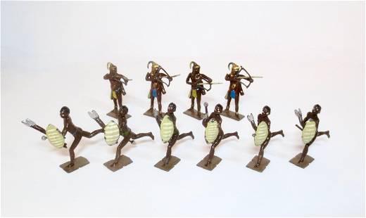 Britains Zulu and Togoland Warriors