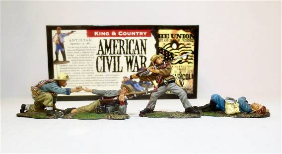 King & Country #ACW08 Civil War Confederates