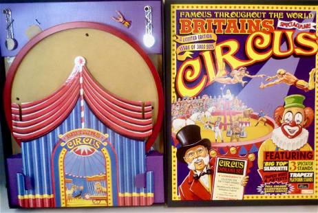 Britains #8665 Circus Diorama Set