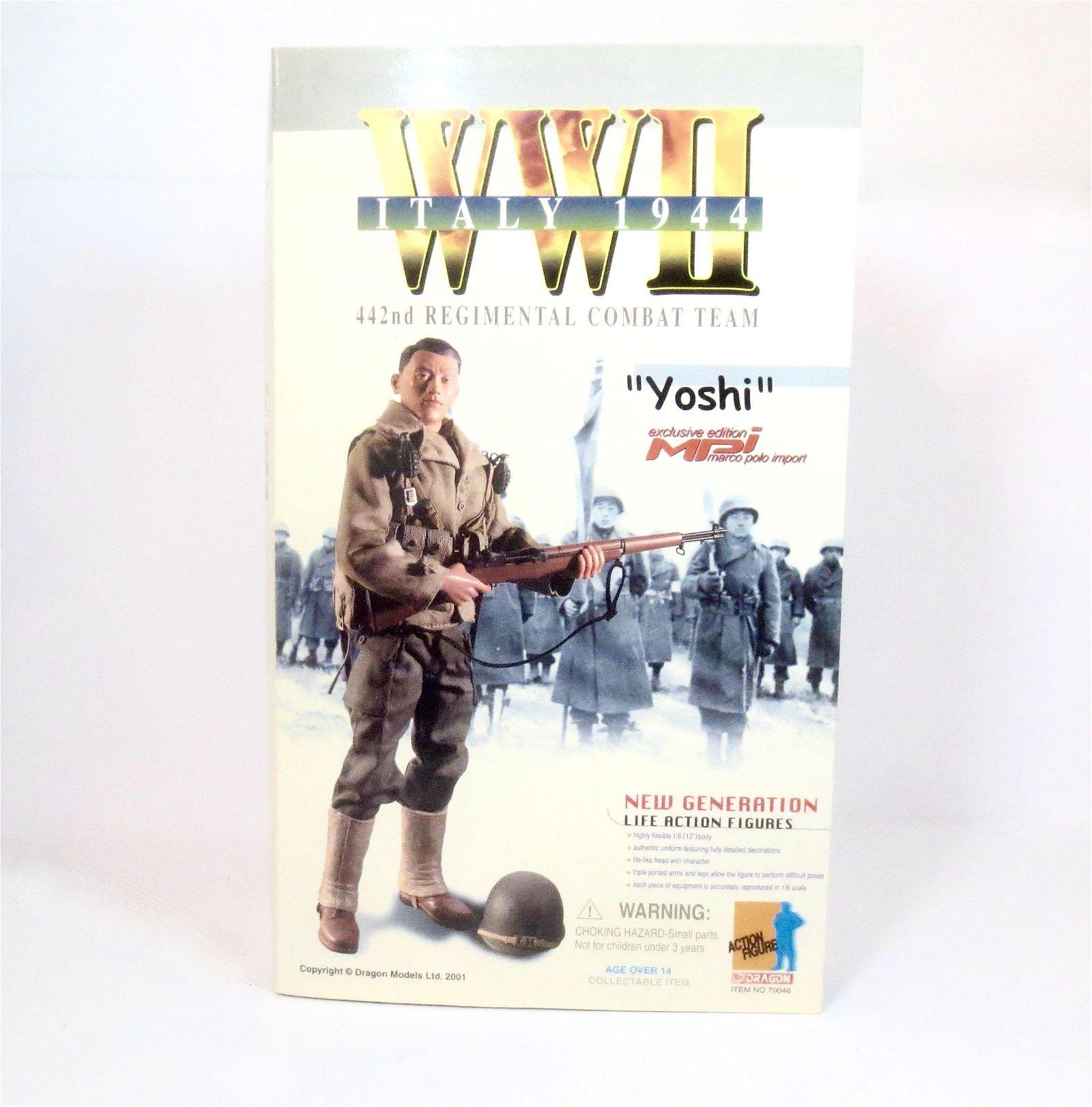 "Dragon WWII Action Figure ""Yoshi"""