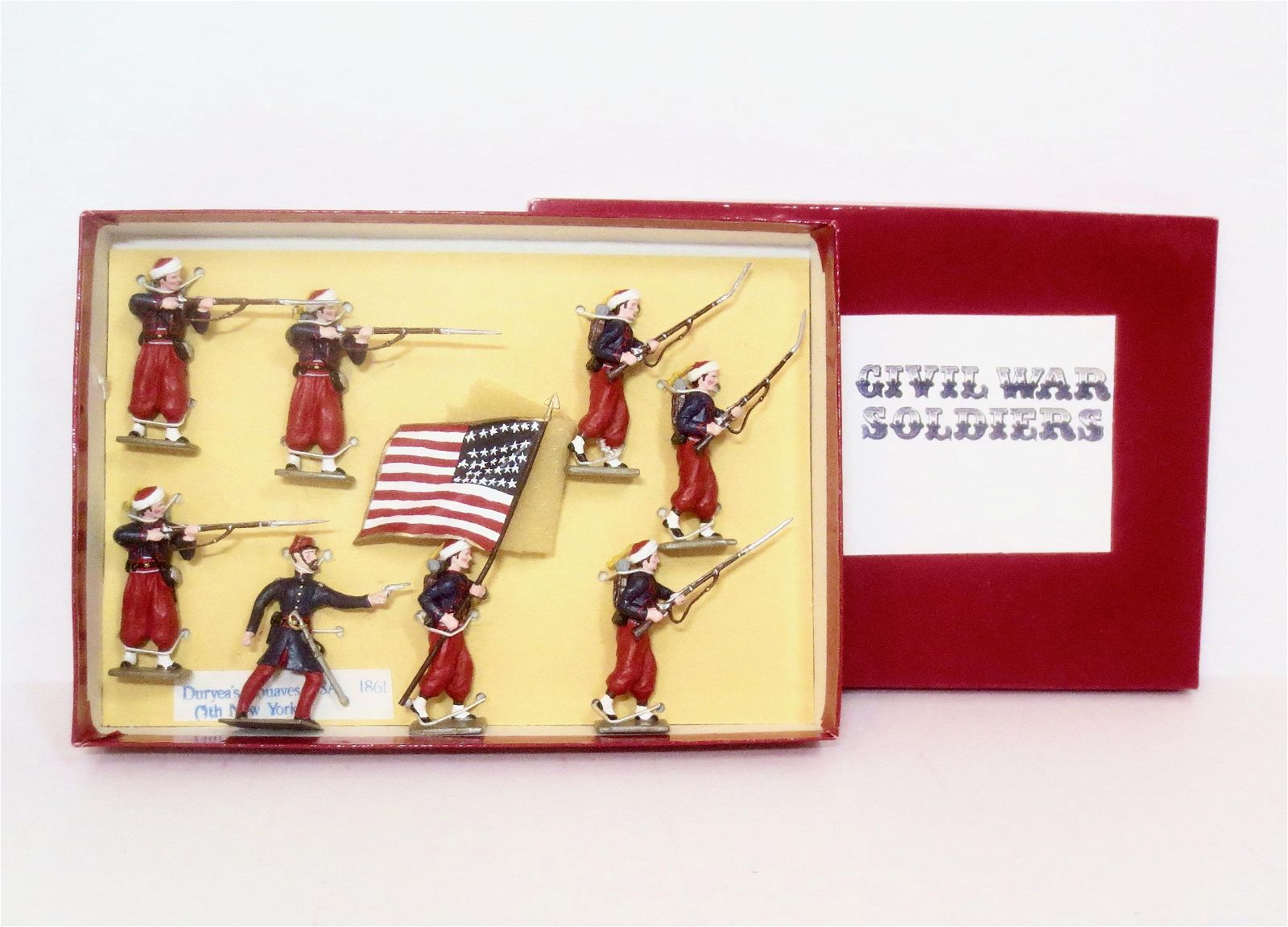 Civil War Soldiers Duryea's 5th New York Zouaves