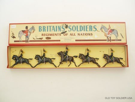 3: Britains Set # 8 4th Queens Own Hussars.