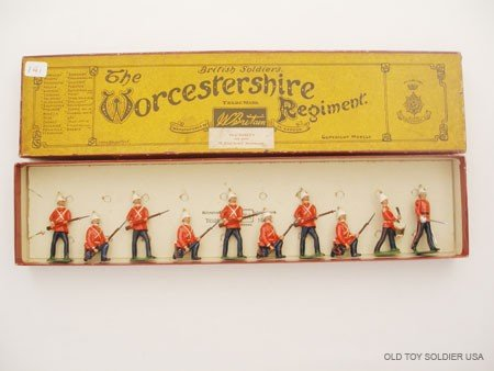 6: Britains Set # 18 The Worcestershire Regiment at the