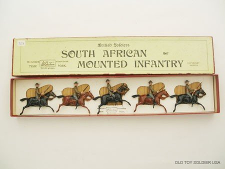 7: Britains Set # 38 South African Mounted Infantry.