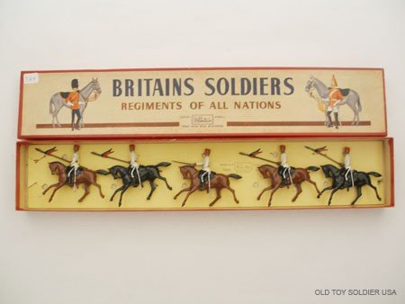 21: Britains Set # 115 Egyptian Cavalry,