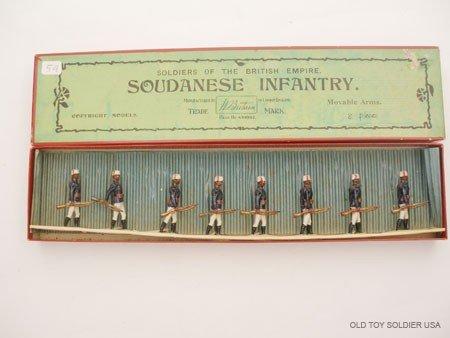 22: Britains Set # 116 Soudanese Infantry,