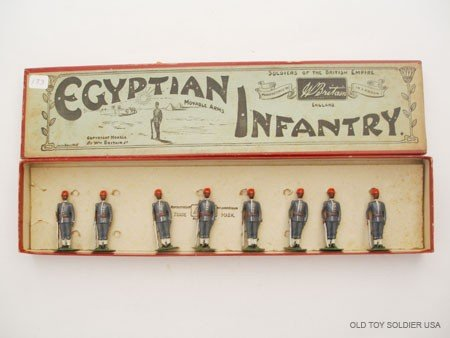 23: Britains Set # 117 Egyptian Infantry