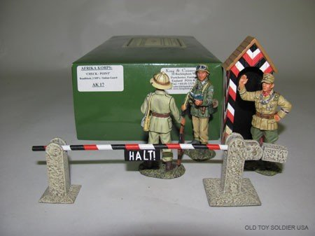 1003: King & Country Afrika Korps Checkpoint Roadblock