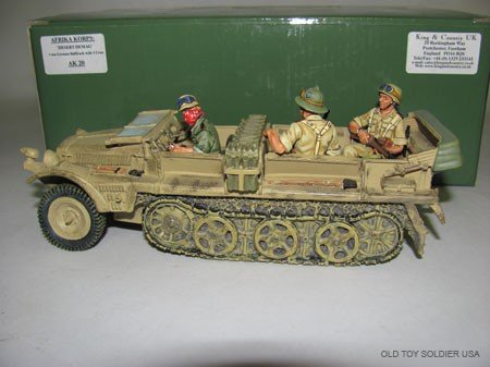 1005: King and Country Afrika Korps, Desert Demag,