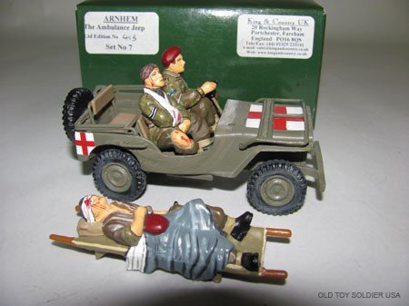 1017: King and Country Arnhem '44, The Ambulance Jeep