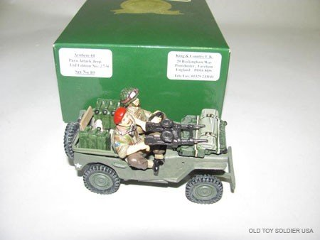 1019: King and Country Arnhem '44, Para attack Jeep,