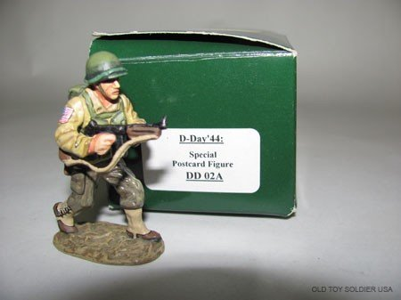 1020: King & Country D-Day '44, Special Postcard Figure