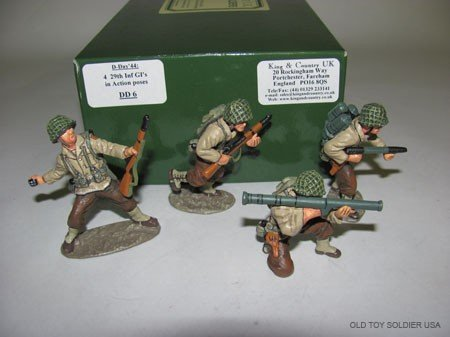 1023: King and Country D-Day '44, 4 29th Infantry Gi's
