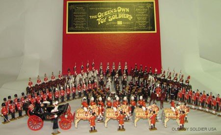 1162: Wm. Hocker: Queens Own Toy Soldiers,
