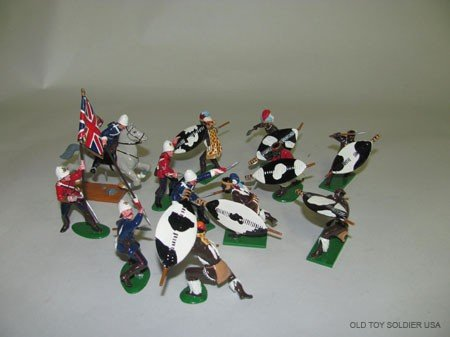 1419: Trophy: Zulu War Assortment,
