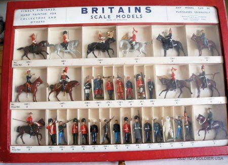 1: Britains EXCEPTIONALLY RARE Picture Pack Counter Dis