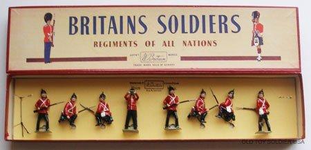 4: Britains Set # 17 Somerset  Box.