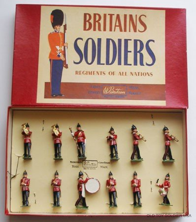 5: Britains Set # 27 Band of the Line - Box