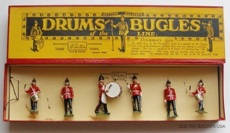 6: Britains Set # 30 Drums and Bugles - Box
