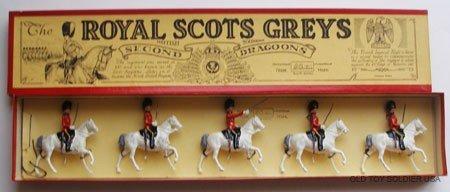 7: Britains Set # 32 Royal Scots Greys - Box