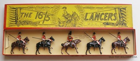 8: Britains Set # 33. 16th/5th Lancers - Box