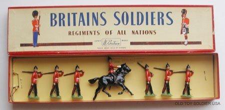 9: Britains Set # 36 The Royal Sussex Regiment - Box