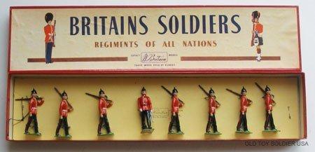 14: Britains Set #76 The Middlesex Regiment - Box