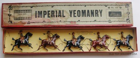 15: Britains Set # 105 Imperial Yeomanry with  Box