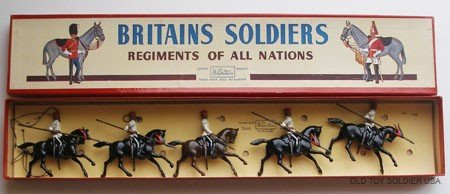 16: Britains Set # 115 Egyptian Cavalry with Box