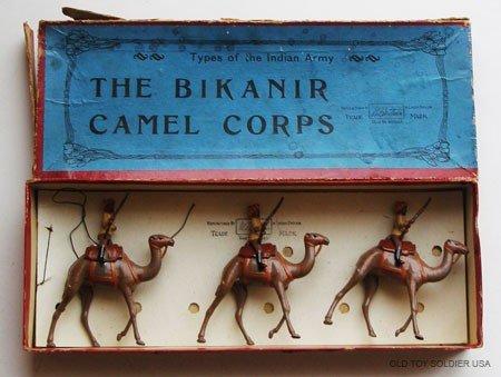 18: Britains Set # 123 Bikanir Camel Corps Scarce - Box