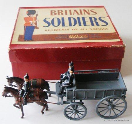 19: Britians Set # 146 Royal Army Service Corps wagon -